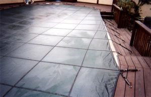 pool cover for concrete or wood deck