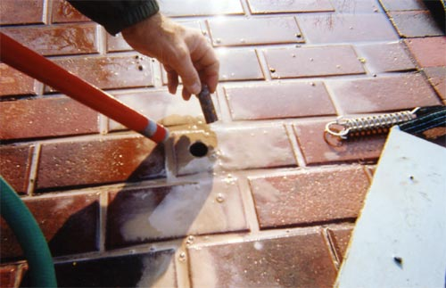 Concrete, Wood or Patio Stone Decks