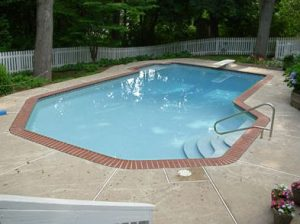 Delaware Pool with New Tile, Coping, Caulking and Plaster