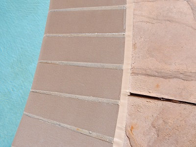 Tan pool Caulk