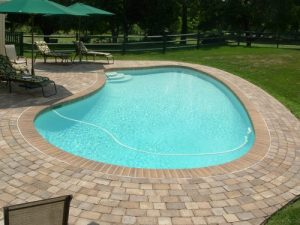 concrete or patio deck installed